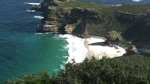 1408 Cliff Cove at the Tip of Africa with the Indi Footage