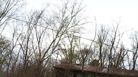 1290 Old Abandoned Spooky Houses Stock Video Footage