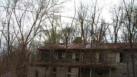 1290 Old Abandoned Spooky Houses Footage