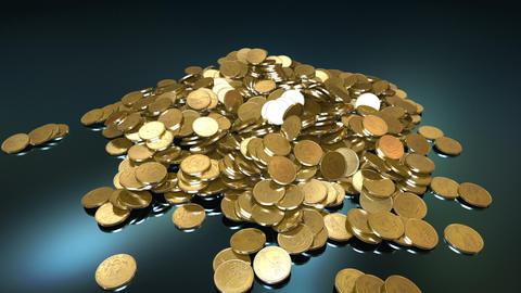Coins Fountain Animation