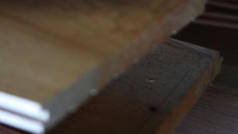 1156 Harwood Oak Board Stock Video Footage