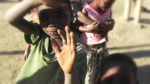 0857 Into an African Children Eyes 2 Footage