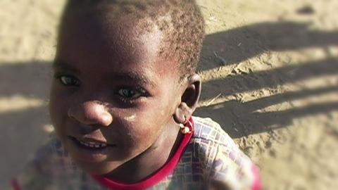 0859 African Children Filmmaterial