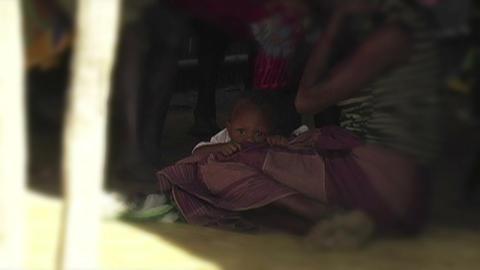 0862 African Children Stock Video Footage