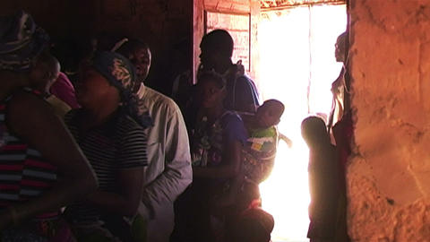 0880 African Child 2 Stock Video Footage