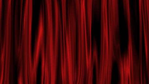 Red Curtain with Alpha Channel Animation