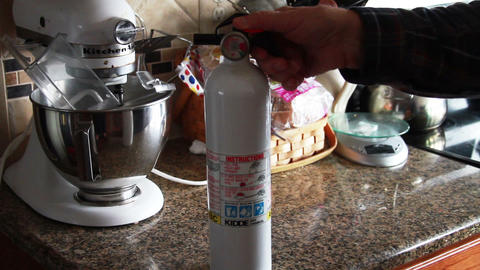 0912 Fire Extinguisher, Live Action