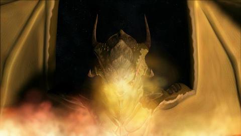 Animation of a magic Dragon Animation