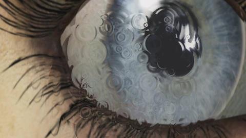 Digital Animation of an Eye Animation