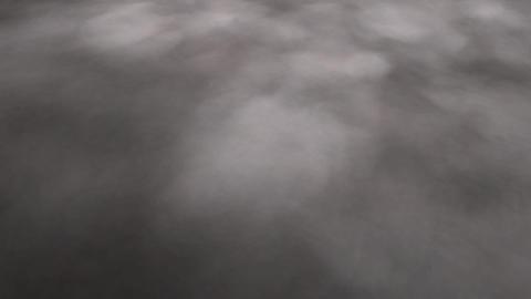 Digital Animation Of Magic Fog stock footage