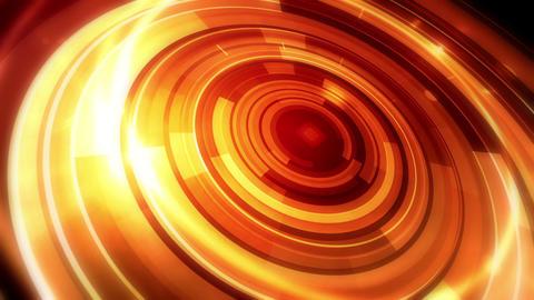 Rotating Golden Orbit Stock Video Footage