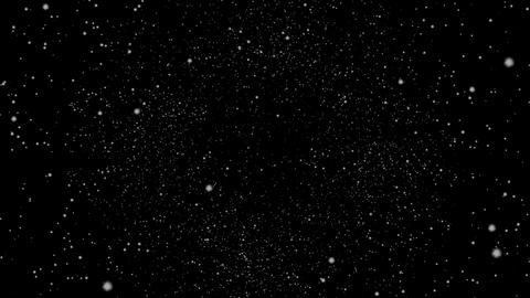 Flying Through a Star Field, Spinning Videos animados