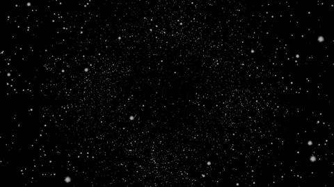 Flying Through a Star Field, Spinning Stock Video Footage