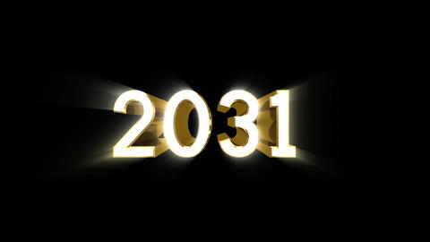 Year 2031 a HD Stock Video Footage