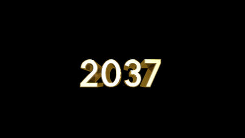 Year 2037 a HD Stock Video Footage