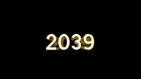 Year 2039 a HD Stock Video Footage
