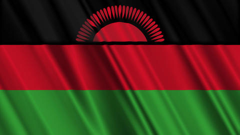 MalawiFlagLoop01 Animation