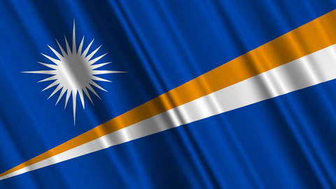 MarshallIslandsFlagLoop01 Animation