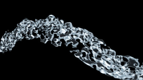 Liquid flow Stock Video Footage