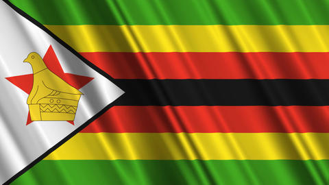 ZimbabweFlagLoop01 Animation
