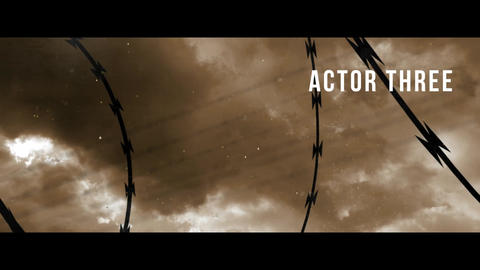 Drama Movie Trailer and Titles After Effects Template