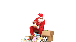 Santa Claus with presents ライブ動画