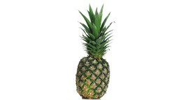 Pineapple rotating Footage