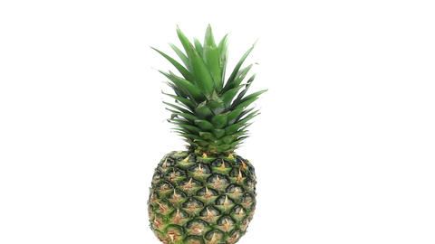Pineapple rotating Stock Video Footage