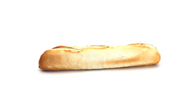 Bread baguette rotating Footage