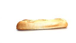 Bread baguette rotating Footage