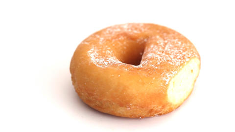 Donut rotating Stock Video Footage