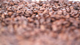 Close up on coffee beans Footage