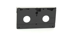 A video tape turning on itself Footage