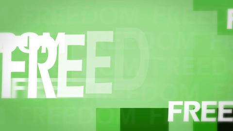 Freedom animation Animation