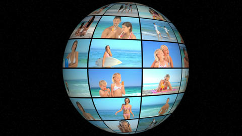 3D Animation on Vacation Animation