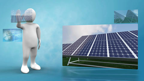 3D Animation on renewable Energies Animation