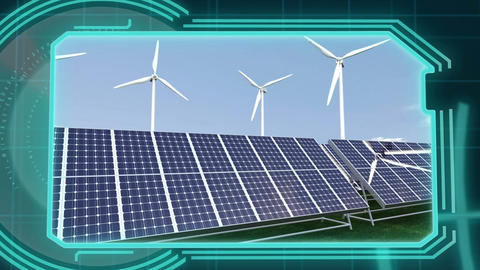 3D Animation of renewable Energy Animation