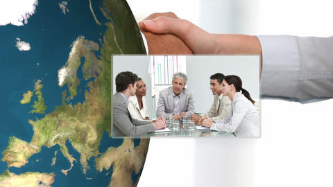 3D Animation of Businessmeetings Animation