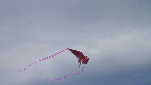 Flying kit in Sky Footage