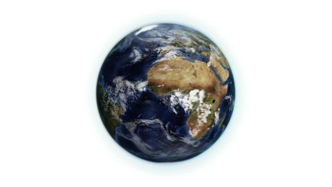 Cloudy Earth in movement with Earth image courtesy Stock Video Footage