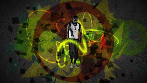 Break dancer moves Animation