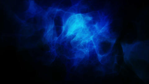 Animated blue smoke Animation