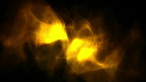 Animated yellow smoke Animation