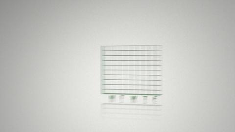 Green animated economical data Animation