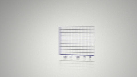 Blue animated economical data Animation