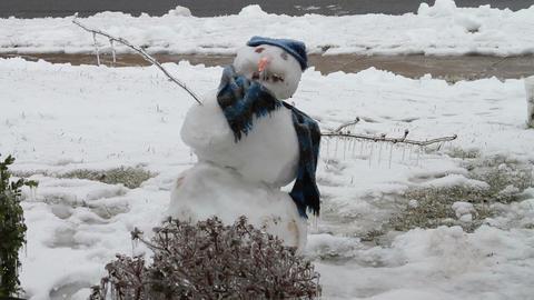 0189 Snow Man, Ice Storm, Icing Footage