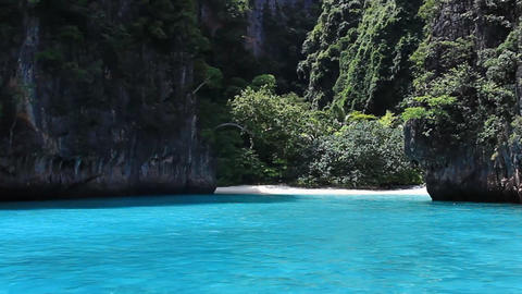 andaman sea southern of Thailand Stock Video Footage