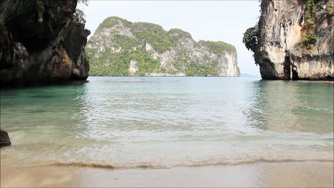 paradie beach of thailand Footage