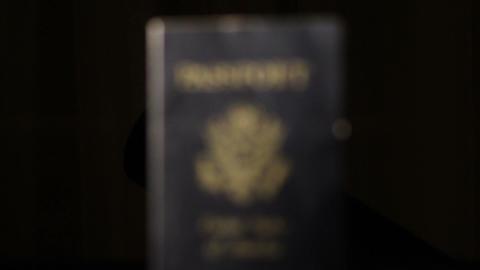 Passport Stock Video Footage