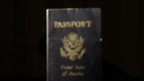 Passport Stock Video Footage
